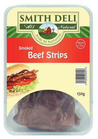 Smoked Beef  Strips 150gm