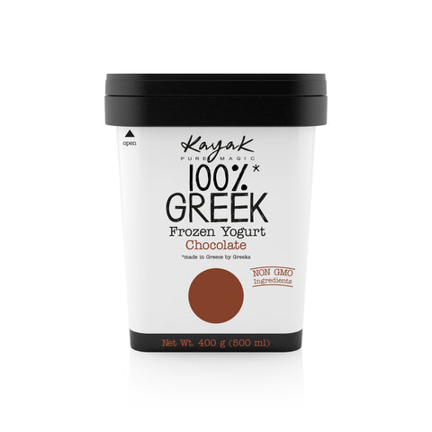 Buy 100% Greek Frozen Yoghurt - Chocolate | QualityFood.ae|Snacks |From Kayak Online food delivery Dubai Abu Dhabi and Sharjah