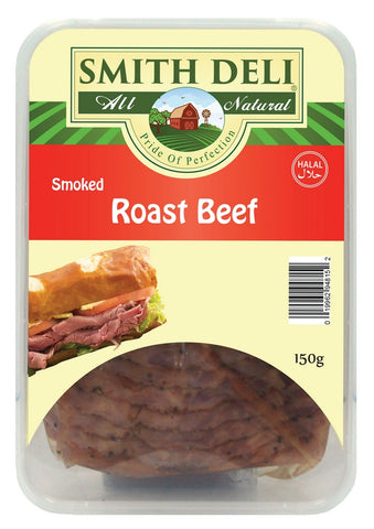 Smoked Roast Beef Strips 150gm