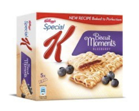 Kellogg's Biscuit Moments Blueberry