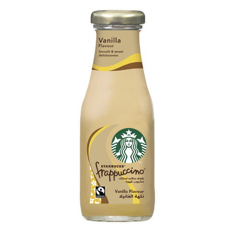 Starbucks Frappuccino Vanilla Lowfat Coffee 250ml