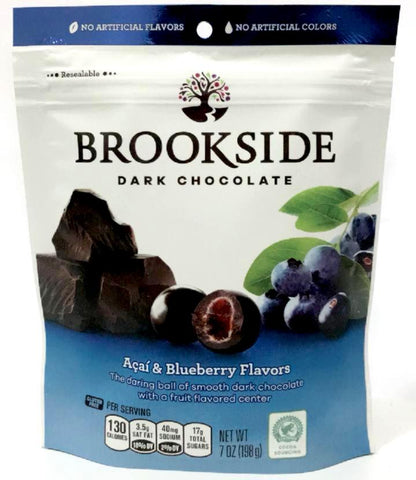 Buy Acai & Blueberry Dark Chocolate | QualityFood.ae|Candy & Chocolate |From Brookside Online food delivery Dubai Abu Dhabi and Sharjah