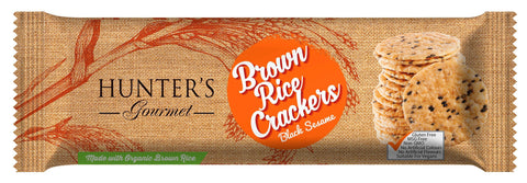 Brown Rice Cracker Black sesame