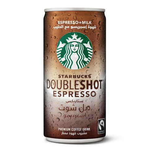 Starbucks Doubleshot No Sugar Coffee 200ml