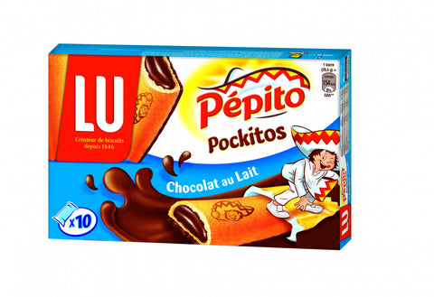 Pepito Pockitos Milk Chocolate Coated Cakes