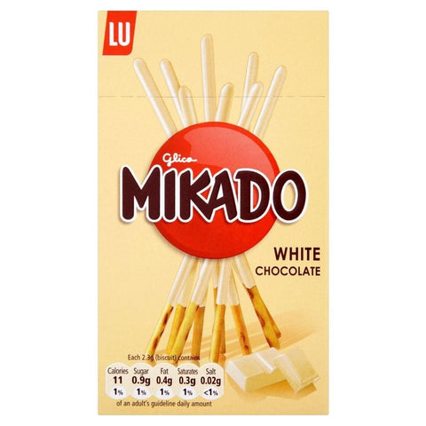 LU Mikado White Chocolate Coated Sticks