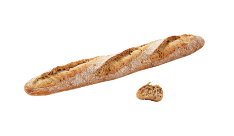 Baked Country Style Sourdough Baguette