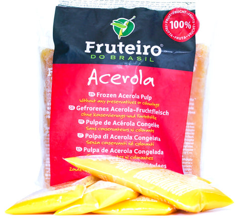 Frozen Natural Acerola Pulp