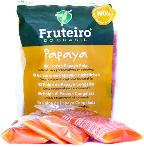 Frozen Natural Papaya Pulp