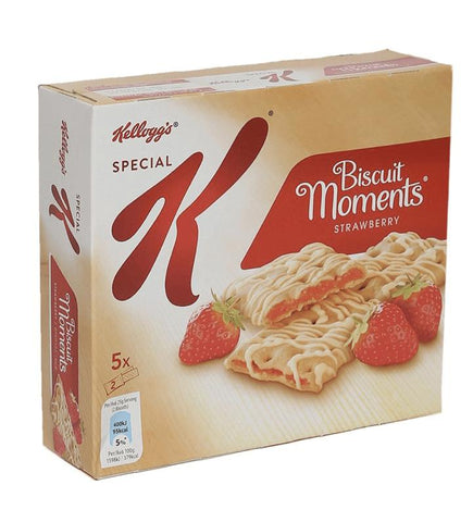 Kellogg's Biscuit Moments Strawberry