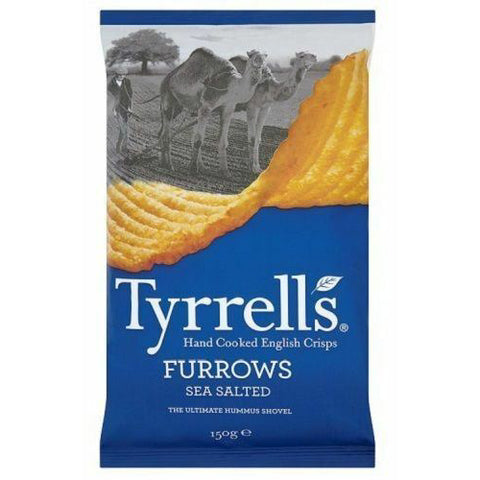 Furrows Sea Salted Crisps