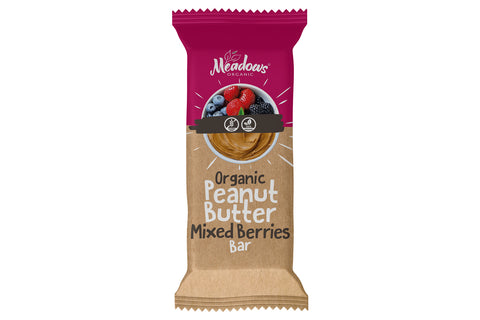 Organic & Gluten Free Peanut Butter Bar - Mixed Fruits
