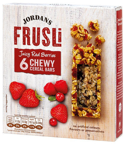 Jordans Wild Berries Bar Granola