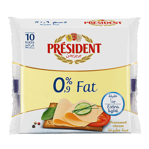 President Cheese Slices 0% Fat
