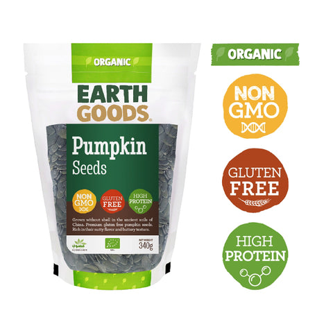 Organic Vegan Pumpkin Seeds