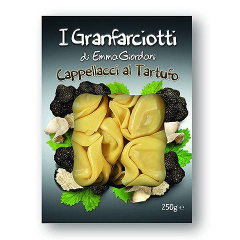Cappellacci Pasta with Truffle Filling
