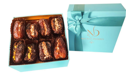 Stuffed Mejdool Dates 8 Pieces