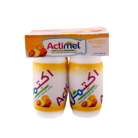Actimel Yogurt Drink MultiFruits