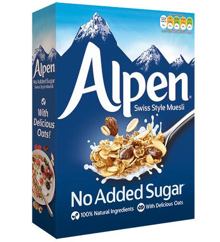 Alpen Dark Swiss Style Muesli No Added Sugar 500gm
