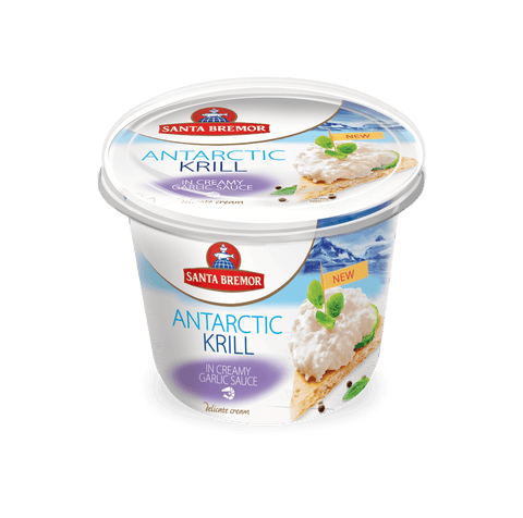 Antarctic Krill In Creamy Garlic Sauce 150gm