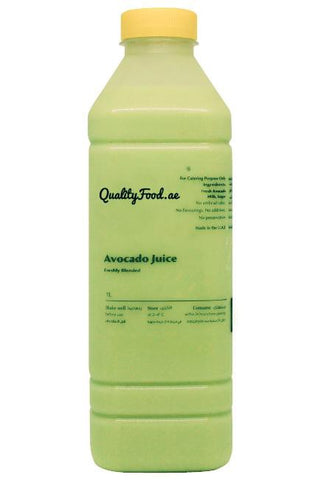 "Fresh Avocado Juice  1 Litre ""Sugar Added"""