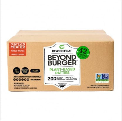 Beyond Meat Burger 42s
