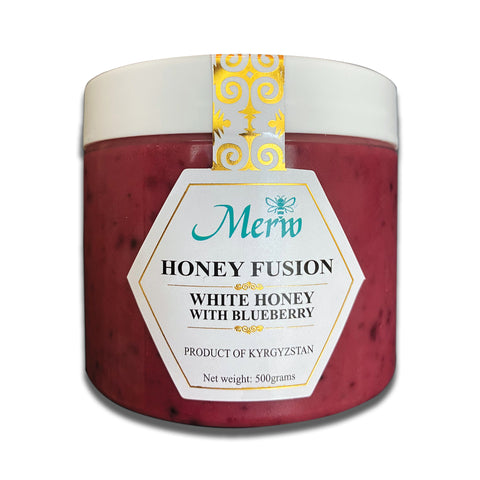 White Honey with Blueberry
