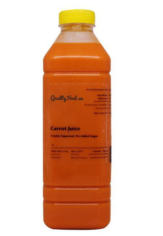 Fresh Carrot Juice 1 Litre