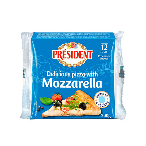 Cheese Slices w/ Mozzarella 200gm