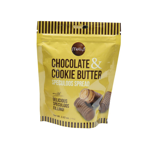 Melly's Chocolate and Cookie Butter Pouch 100g (6pcs)