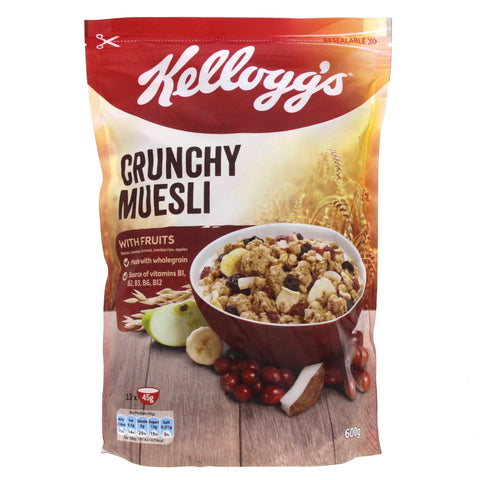 Crunchy Muesli w/ Fruits 600gm