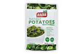 Instant Potatoes with Spinach