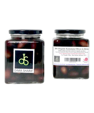 Buy Organic Kalamata Olives in Brine | QualityFood.ae|Olives |From Mooneh Online food delivery Dubai Abu Dhabi and Sharjah
