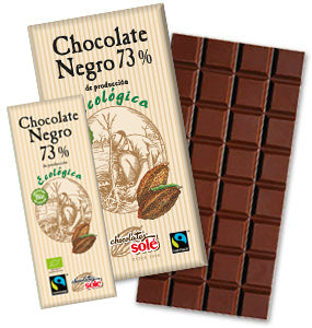 Organic Dark Chocolate 73% Cocoa