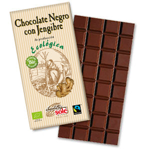 Organic Dark Chocolate w/ Ginger