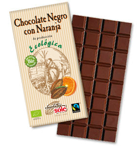 Organic Dark Chocolate w/ Orange
