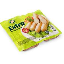 Buy Extra Chicken Frankfurter 250gm | QualityFood.ae|Meat |From Perutnina Online food delivery Dubai Abu Dhabi and Sharjah
