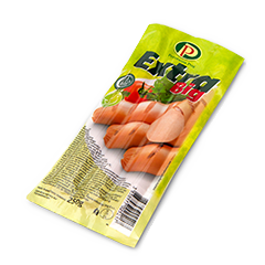 Extra Chicken Frankfurter Big 250g