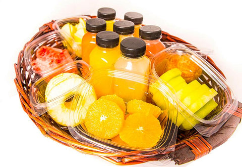 Juice & Fruit Basket - Serves 10 person