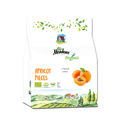 Meadows Freeze Dried Apricot Pieces