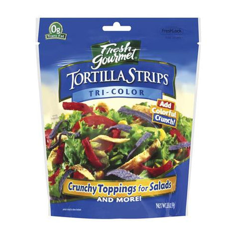 Tortilla Strips -Tri Colour