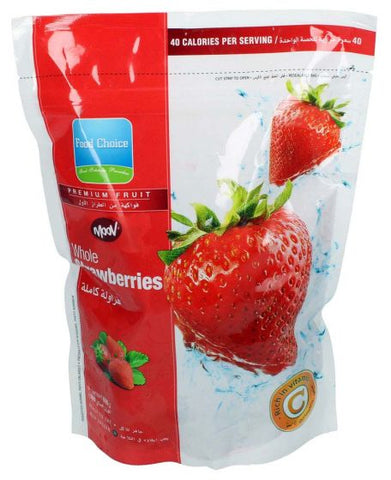Buy Frozen Whole Strawberries 600gm | QualityFood.ae|Fruits |From Moov Online food delivery Dubai Abu Dhabi and Sharjah