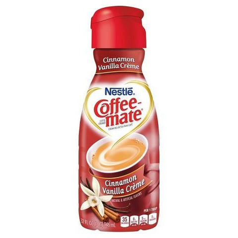 Coffee Mate Cinnamon Vanilla Crème Coffee Creamer - 946 ML
