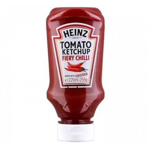 Heinz Tomato Ketchup Fiery Chilli 255gm