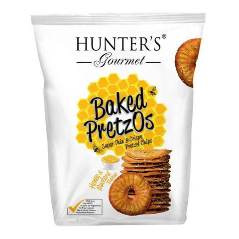 Baked Pretzos Honey Mustard