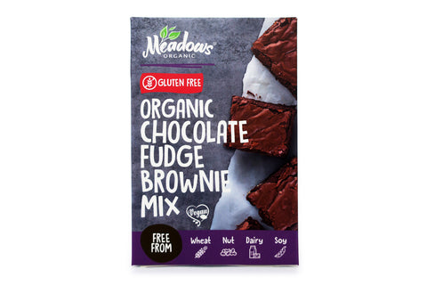 Meadows Organic and Gluten-Free Chocolate Fudge Brownie Mix