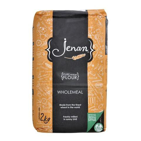Jenan Pure Wheat Flour  Wholemeal 2kg