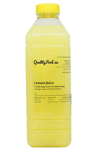 "Fresh Lemon Juice 1 L ""Lemon Only"""