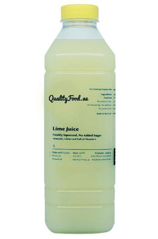 "Fresh Lime Juice 1 Litre ""Lime Only"""