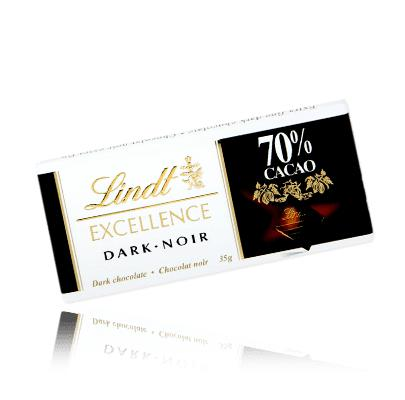 Lindt Excellence Dark Chocolate 70% Cocoa 35gm